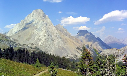 Burstall Pass Trail, Peter Lougheed Provincial Park, AB